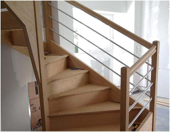 Fabrication d'escalier