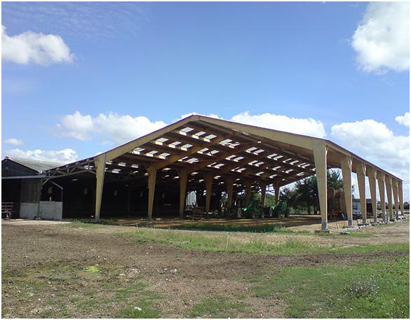 Bâtiment agricole et industriel