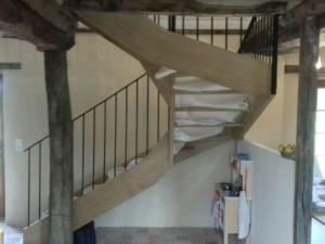Rebours Charpentier Mayenne Escalier (13) 129