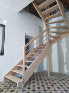 Rebours Charpentier Mayenne Escalier (6) 122