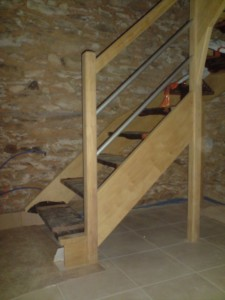 Rebours Charpentier Mayenne Escalier (8) 124